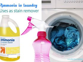 How to use ammonia as a stain remover for your laundry