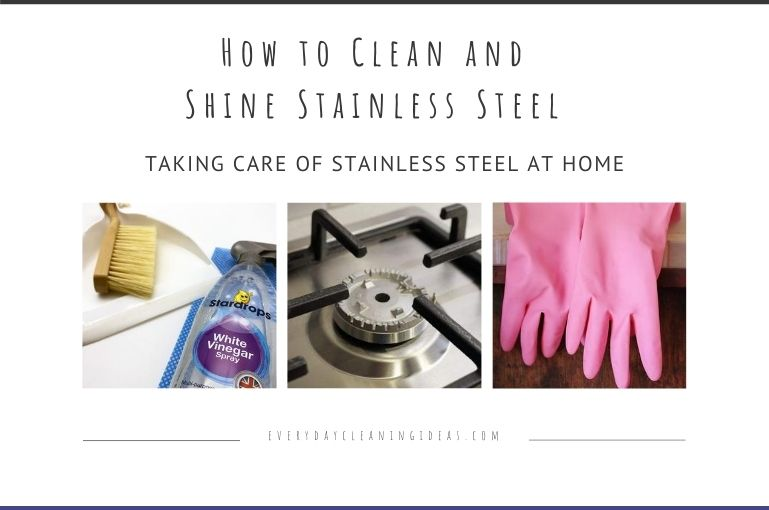 How to Clean and Shine Stainless Steel Appliances