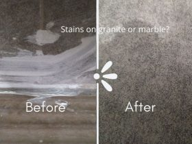 How To Remove and Clean Stains From Granite Or Marble