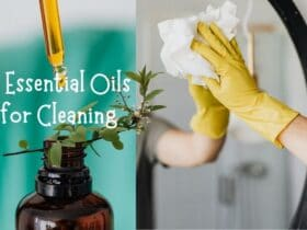 cleaning and disinfecting essential oils
