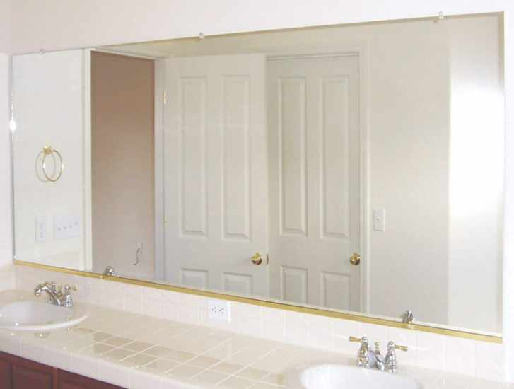 clean the mirror and stains