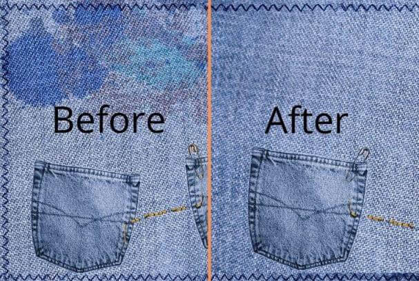 How to remove liquid laundry detergent stains fast