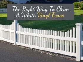 How To Clean White Vinyl Fence
